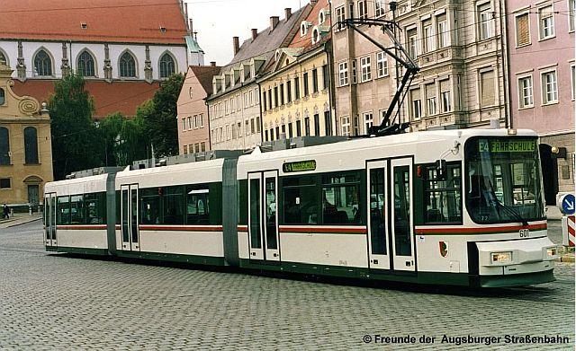 TW 601 am Ulrichsplatz