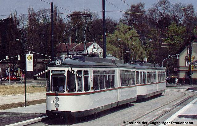 TW 416 an der Schertlinstraße