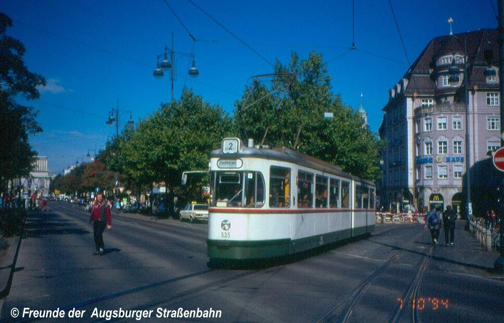 Wagen 535 am Königsplatz