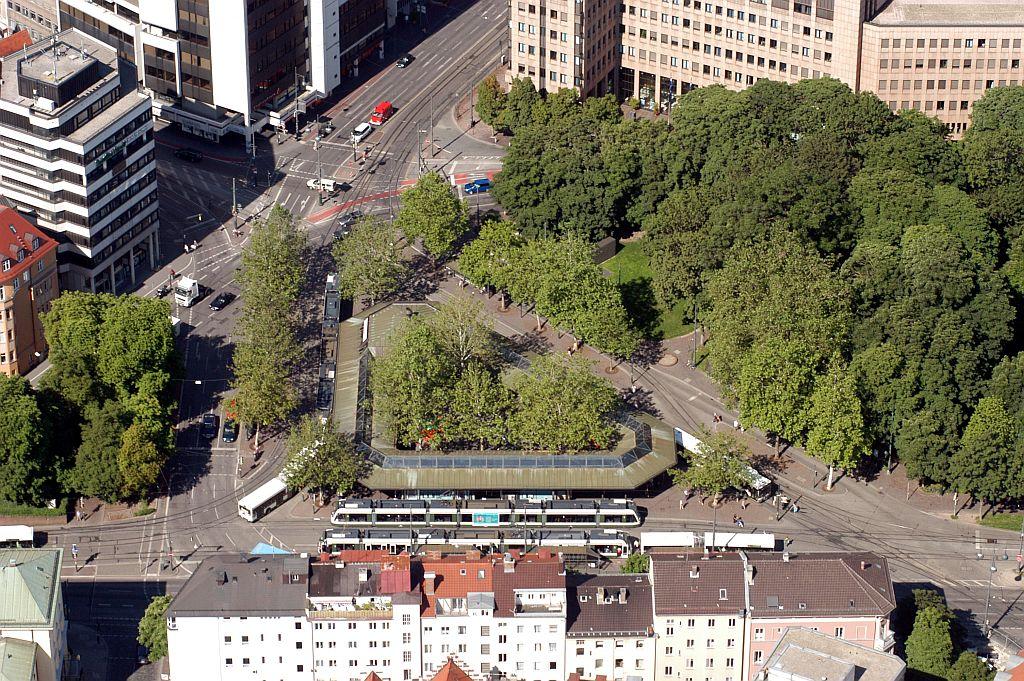 Luftbild Königsplatz