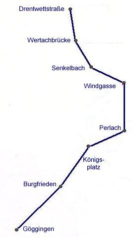 Linienverlauf 1881