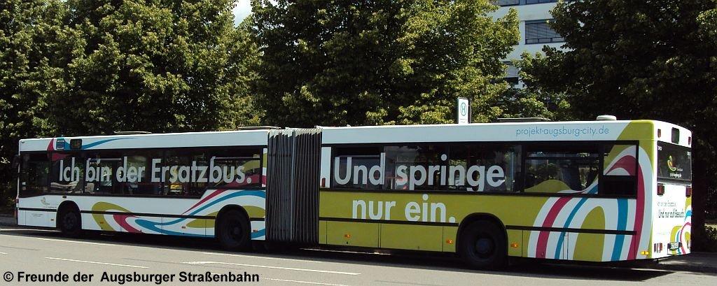 Der Ersatzbus als Beispiel