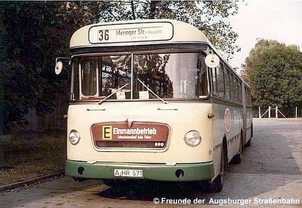Wagen 99 an der Meringer Straße