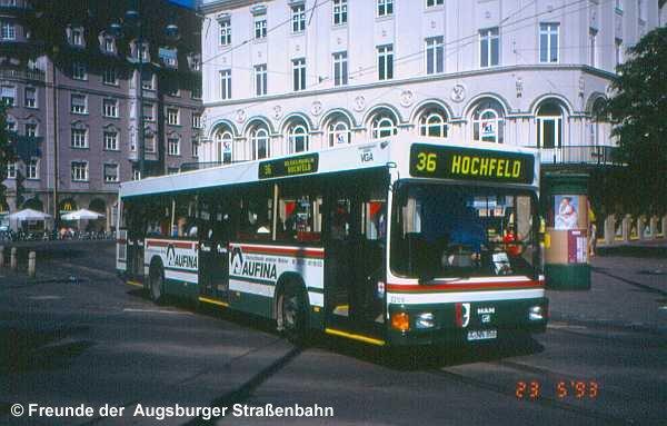 Wagen 2209 am Königsplatz