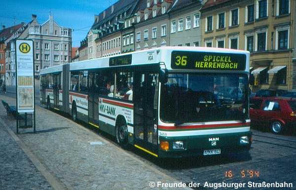 Wagen 3459 am Ulrichsplatz