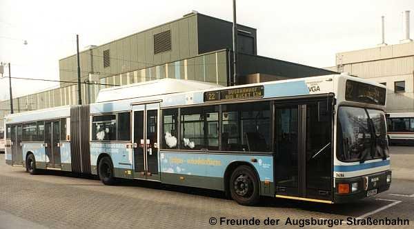 Wagen 3494 im Betriebshof