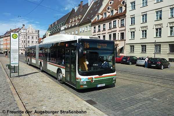Wagen 3549 am Ulrichsplatz